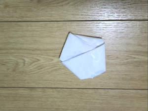 レジ袋のたたみ方5