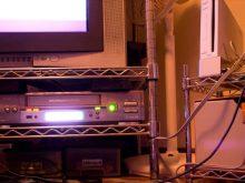 テレビとTVボード
