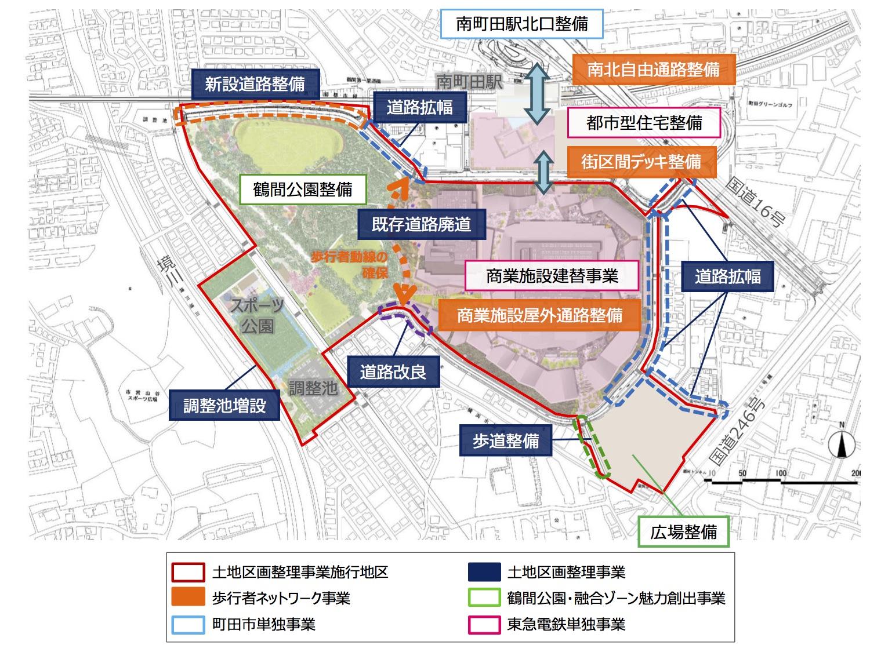 南町田グランベリーパーク開発内容