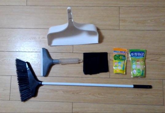 ミニマリストの掃除道具