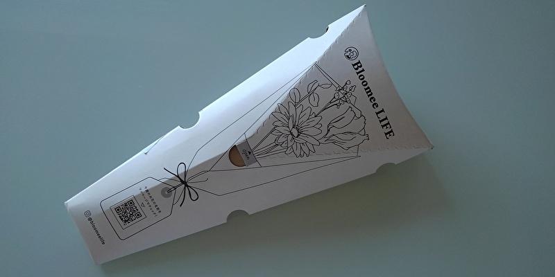 ポストに届いたプルーミーライフ体験プランのお花