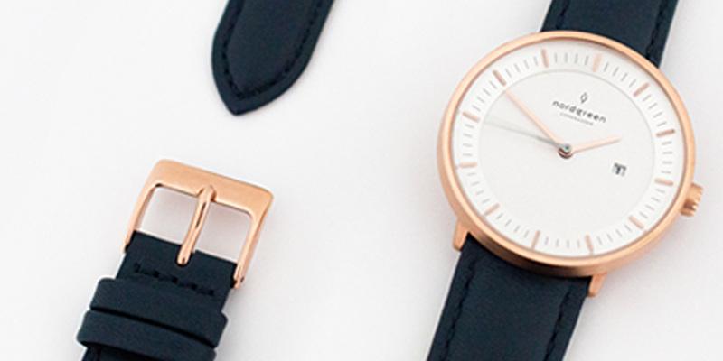 ノードグリーン腕時計1