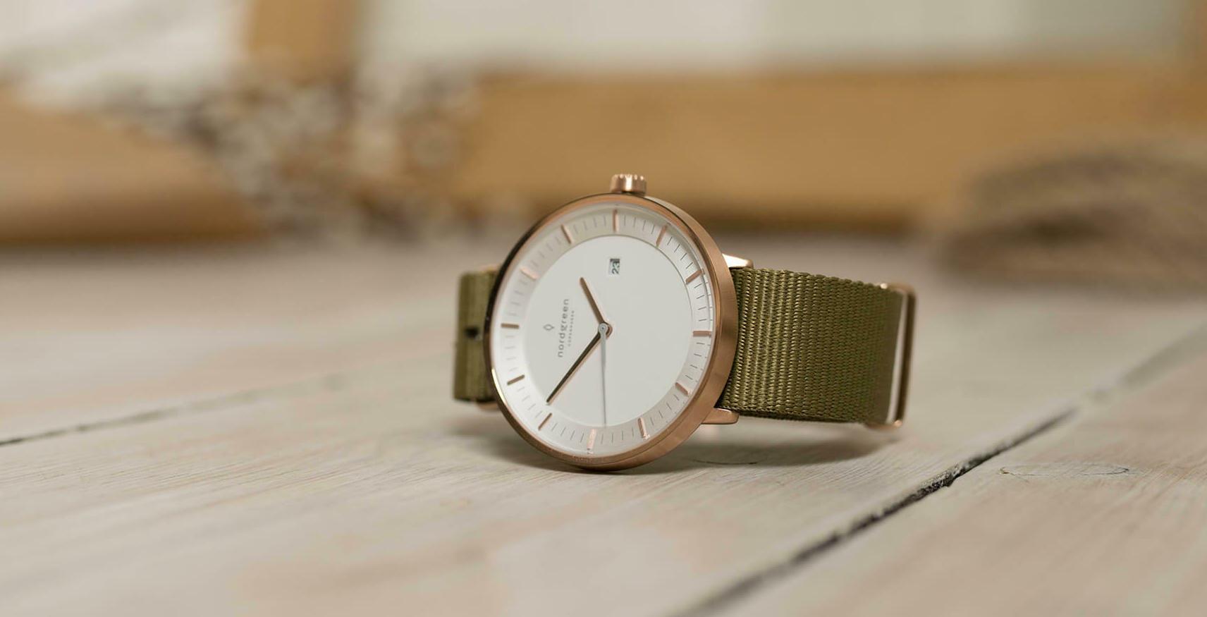 ノードグリーン腕時計3