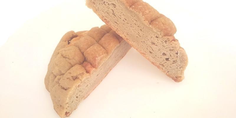 白いメロンパン